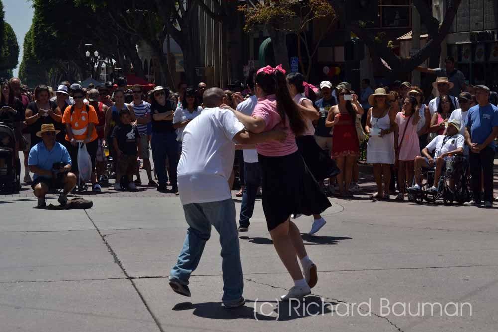 Street Dancers, Whittier Calif. Car Show