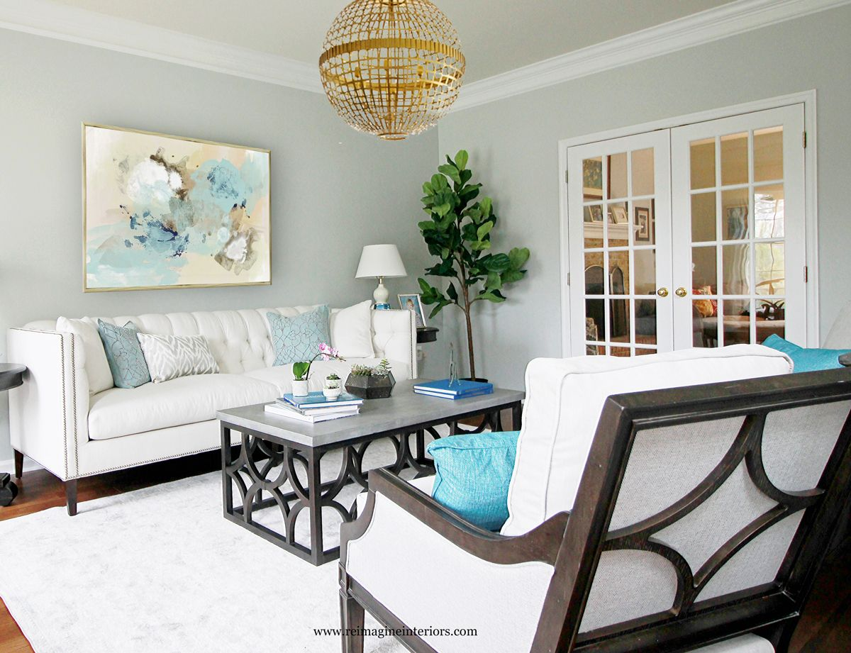 Beautiful living room design philadelphia pa. Benjamin Moore Oyester ...