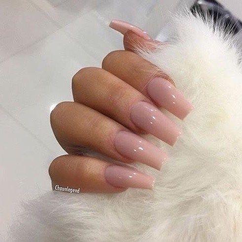 Nude nail