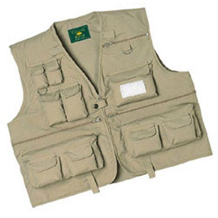 Crystal River Fly Fishing Vest, Size: Large, Multicolor