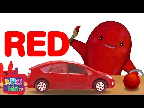 Colour RED song (american spelling)