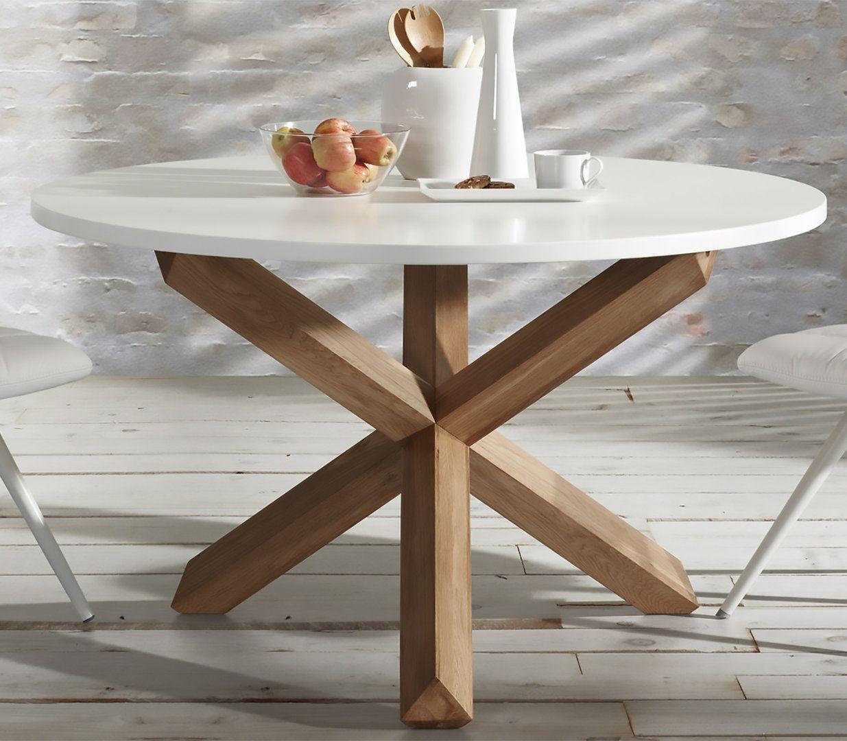 Mesa de comedor moderna redonda nori - Mesa de comedor ...