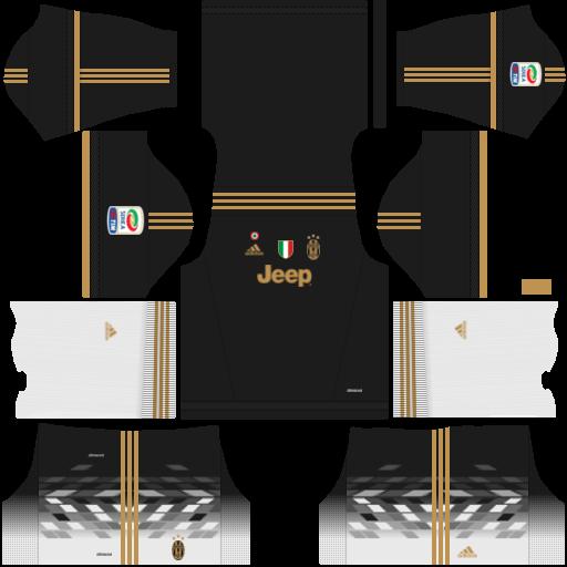 Juventus 2018 2019 Kit Logo Dream League Soccer Juventus Soccer Kits Juventus Soccer