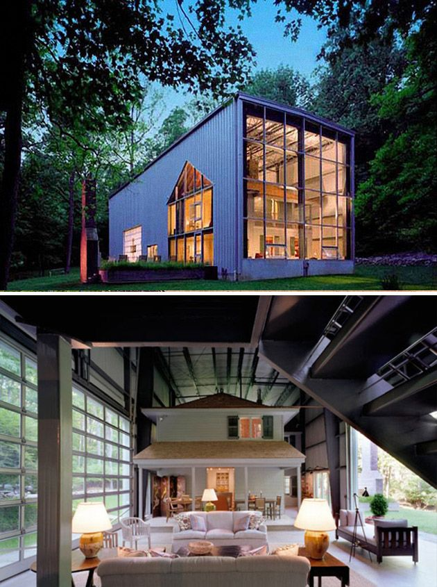 Art studios built with shipping containers | might have to kill a man for  it ...house edition! | Pinterest | Art studios, Studio and Ships