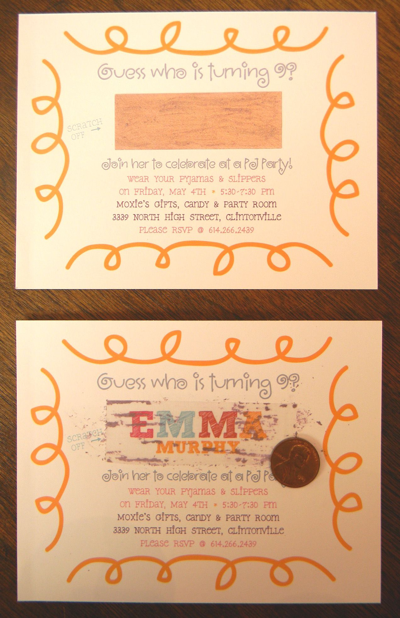 inspired by what we found on pinterest...my daughter\'s birthday ...