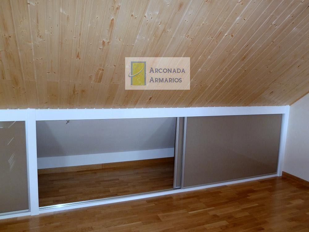 Resultado de imagen de armario bajo cubierta buhardilla - Armarios para buhardillas ...