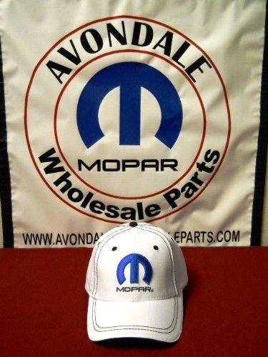 45d1e7dd2 Mopar Logo Hat White W/Black Stitch Adjustable OEM by Mopar. $24.95. Here