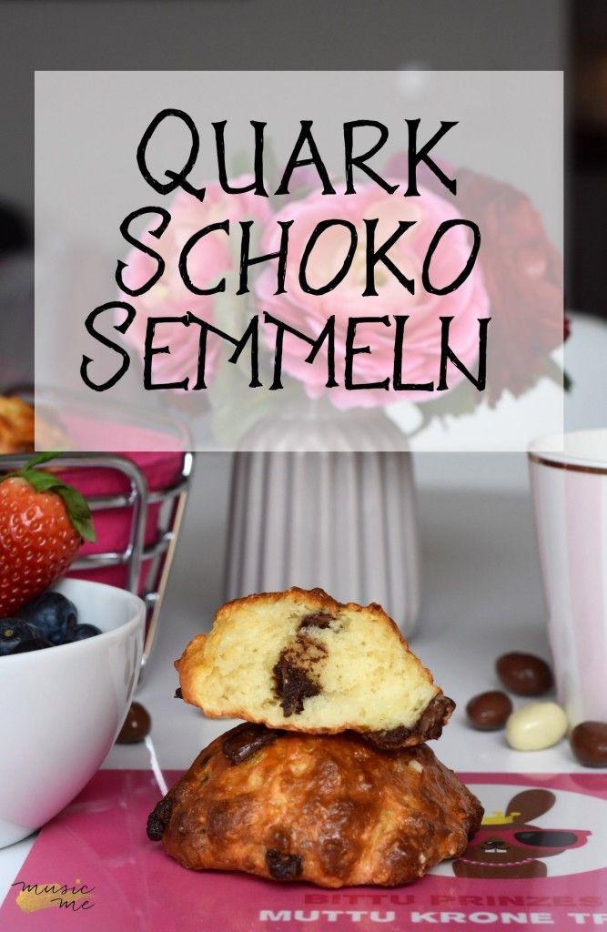 Quark-Schoko-Semmeln | Brunch für und mit Kindern | music-me.de #ichbacksmir #brunchrezept