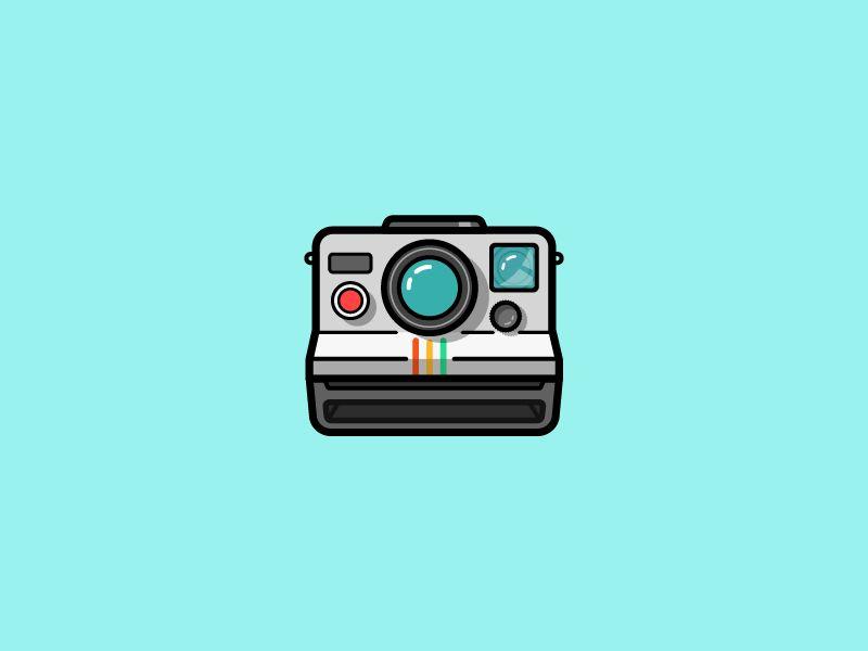Polaroid Camera Camera Logos Design Camera Drawing Camera Cartoon