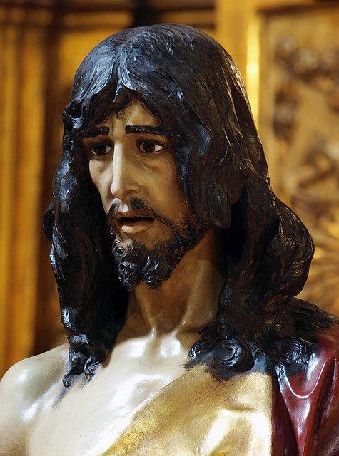 """Besamanos """"Cristo Prendido"""". Cofradia del Prendimiento del Señor y el Dolor de la Madre de Dios. Zaragoza."""