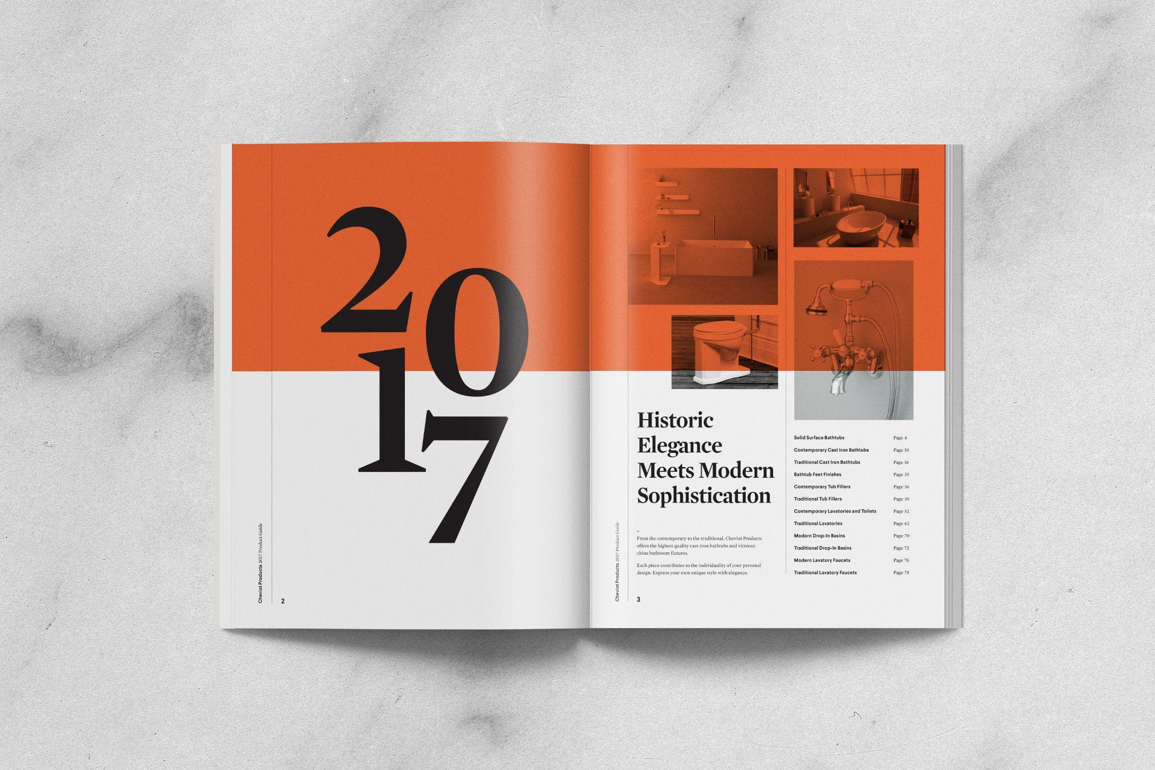 Cheviot Spread Design | design: layout | Graphic design branding