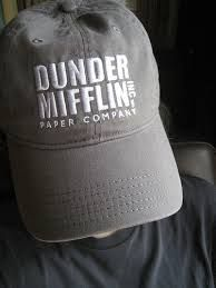 24a56fbf Dunder Mifflin Hat | The office | Hats, Baseball hats, The office merch
