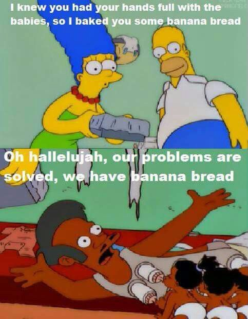One of my fav scenes ever, so funny! Banana bread? What were you thinking?! XD XD