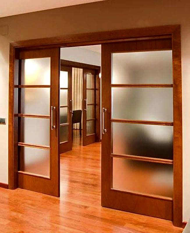 puerta corrediza | Sala de estar | Pinterest | Puertas corredizas ...