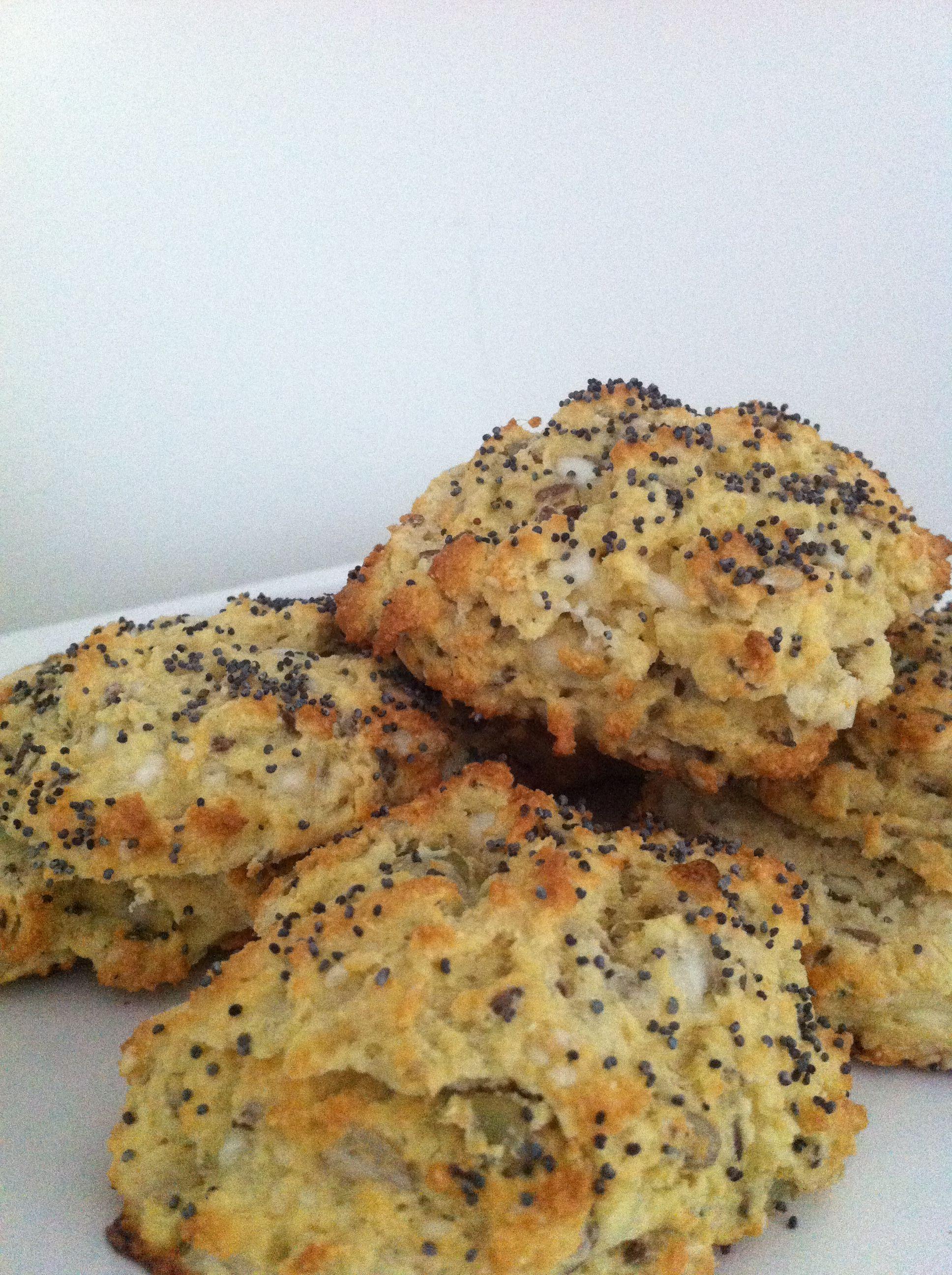 scones med mandelmjöl