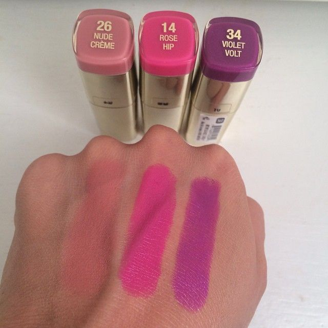 Milani Color Statement Lipsticks.  Follow my instagram @mellyfmakeup