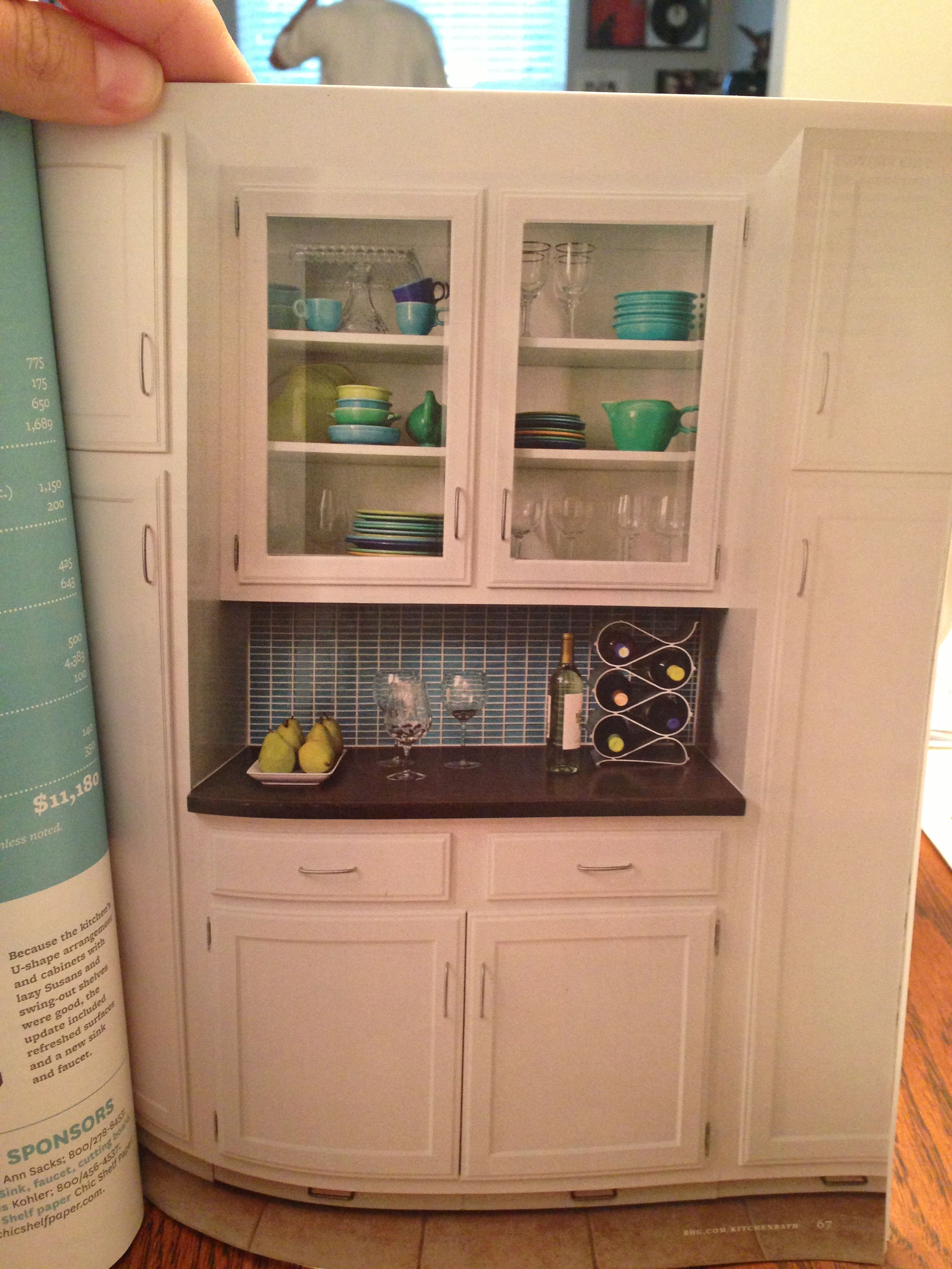Great Bar Area For Kitchen Wall Between Pantry Storage