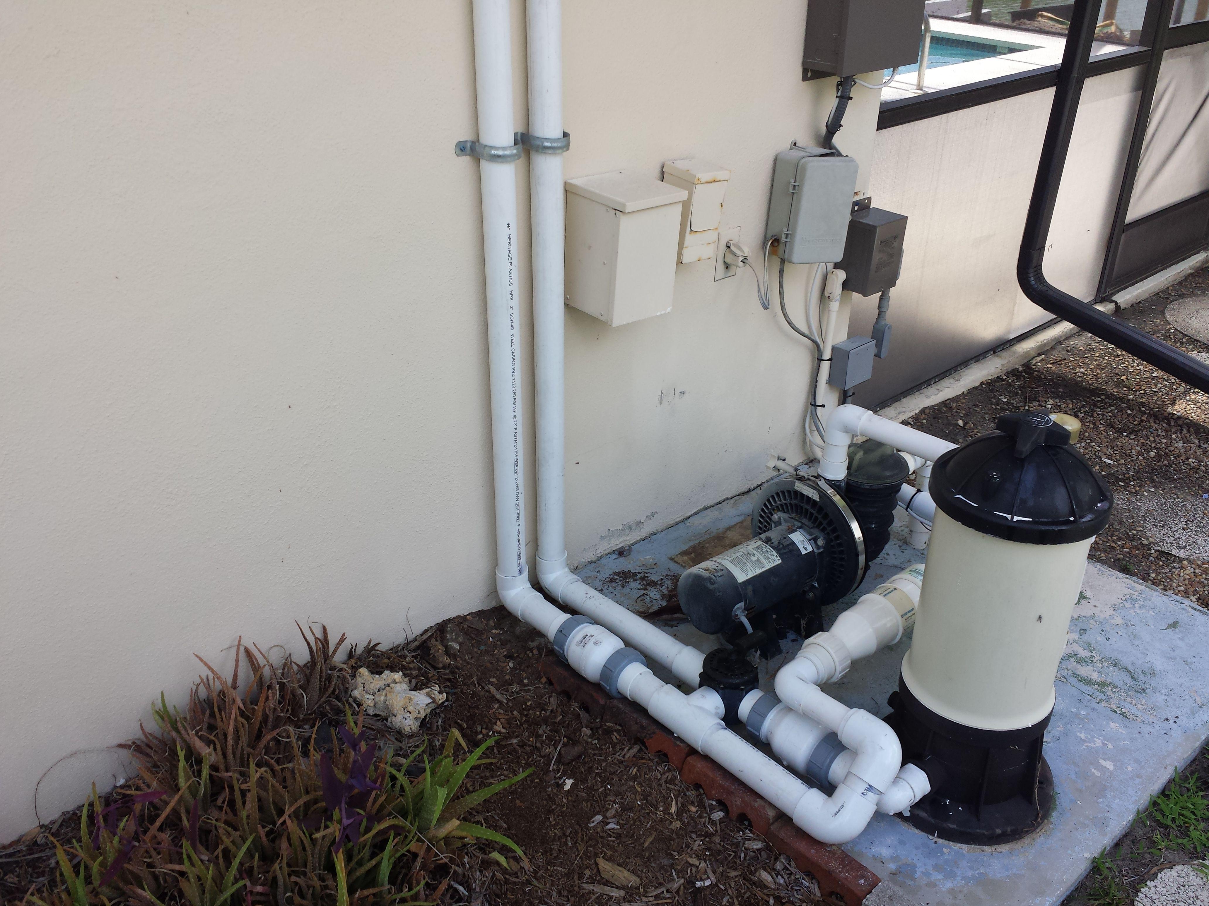 Vortex Solar Pool Heater Bottom End Plumbing www
