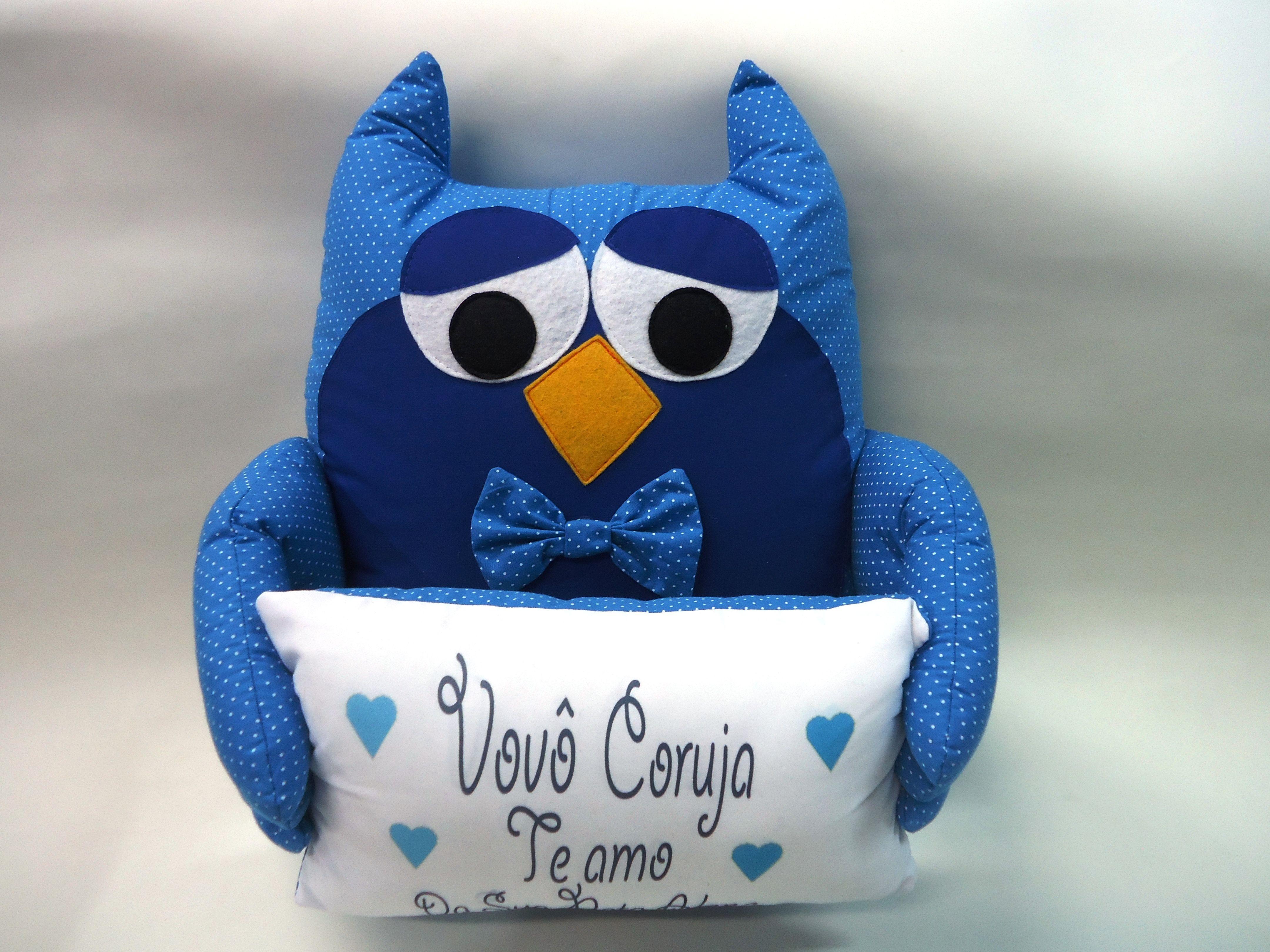 Vovô Coruja www.facebook.com/mundodoaconchego