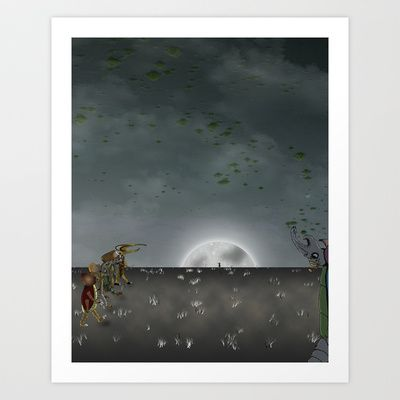 Beatle Outback Art Print by Conceptualized - $19.00