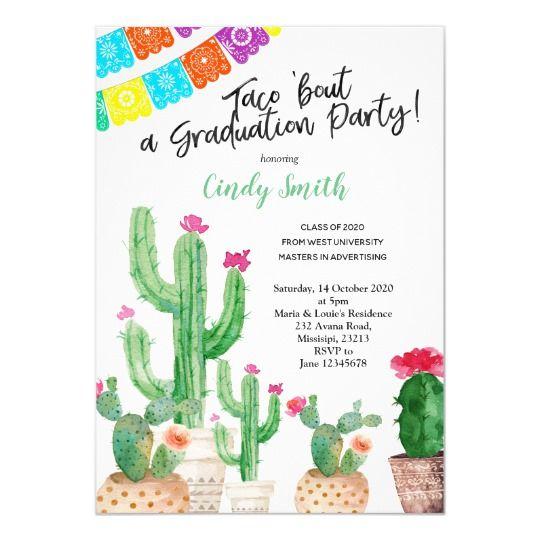 Mexican Fiesta Party Invitation | Zazzle.com
