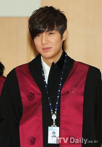"Sep., 2012 Lee Min Ho was selected as an ""Honorary Prosecutor."" It is basically a PR ambassador for Korean prosecutors"