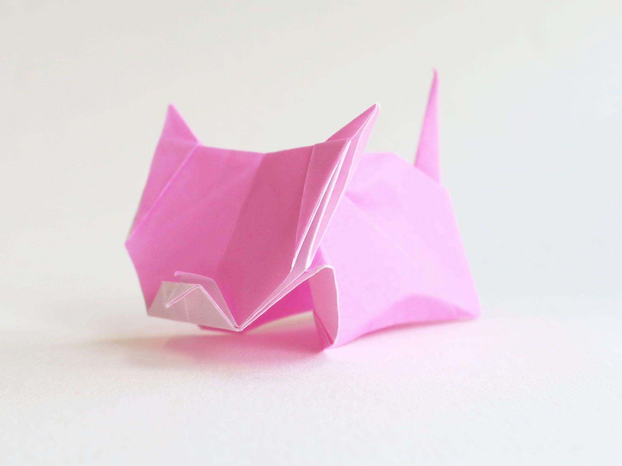 Photo of Origami-Katze
