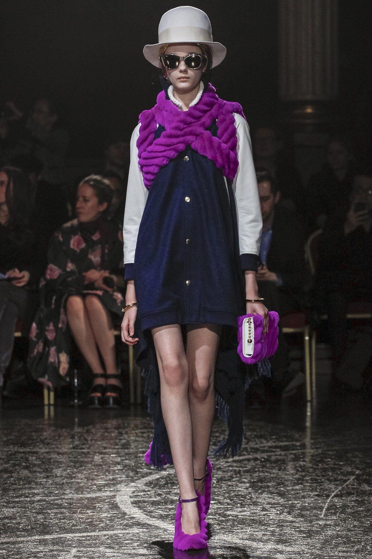 Undercover fashion collection, autumn/winter 2014 -- plum / purple