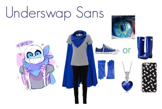 """Underswap! Sans Cosplay"" by nkkdkes ❤ liked on Polyvore featuring art and…"