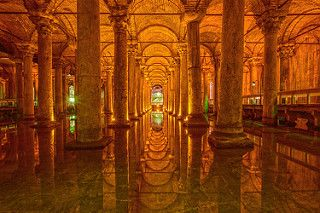 İstanbul, Yerebatan Sarnıcı (Basilica Cistern) | by talipcetin