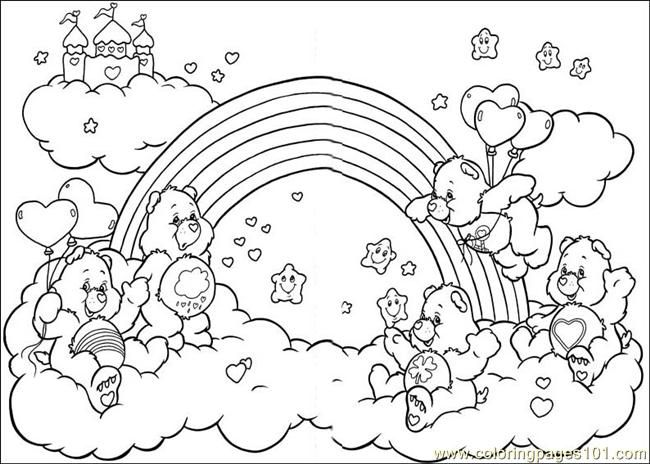 Baby care bear coloring pages google search