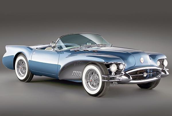1954 Buick Wildcat Ii Concept Car Promotional Photo Poster