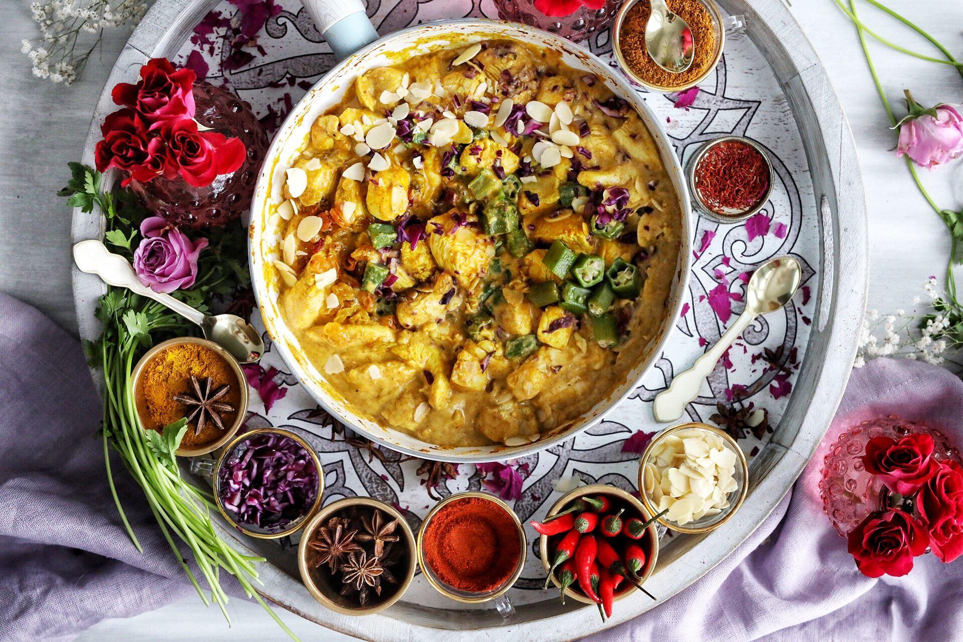 Patak S 3 Step Chicken Korma Medley With Almonds Golden Raisins Recipe Chicken Korma Korma Indian Food Recipes