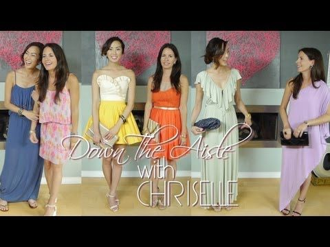 Ep 7 Down The Aisle With Chriselle Wedding Guest Attire