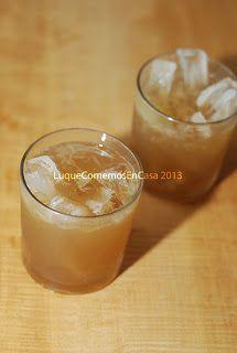 ¡¡¡Papelón con limón!!! Una bebida venezolana muy refrescante...
