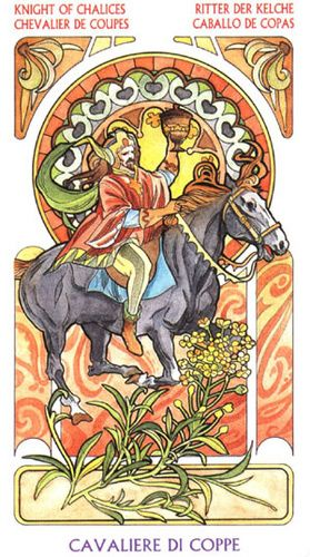 KNIGHT OF CUPS~Relationship meaning~ Represent a person who is