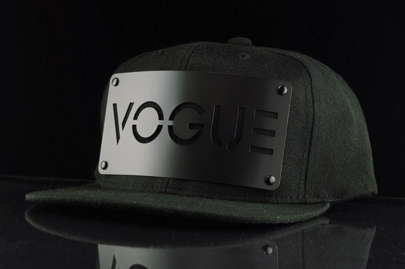 Vogue on Black Snapback - Karl Alley Original Hardware  5465f61d9abe
