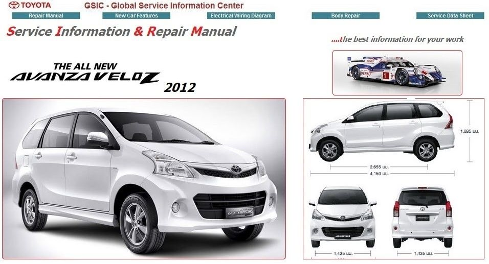 Ida657 avanzapdf pinterest toyota and auto repair services toyota avanza 2012 gsic f651f652 workshop manual cheapraybanclubmaster Images