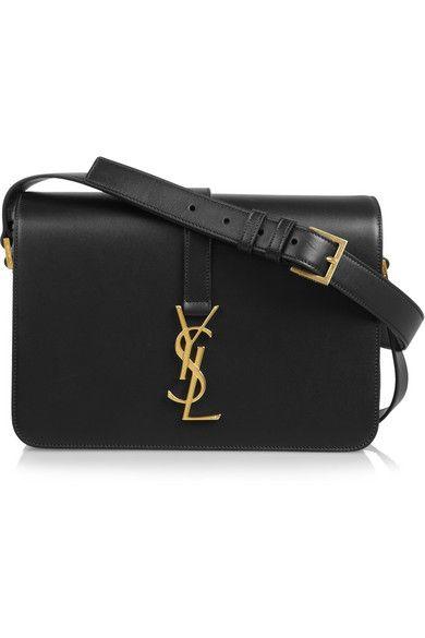 SAINT LAURENT Monogramme Sac Université leather shoulder bag  2 08d54c12d5caa