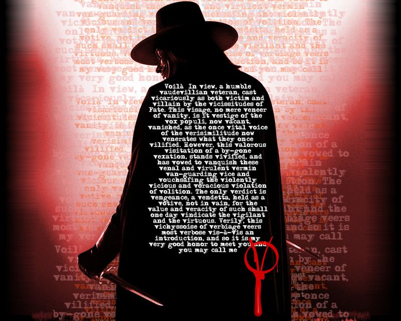 Rustyzippers My Favorite Wallpapers Vendetta Quotes V For Vendetta Quotes How To Memorize Things