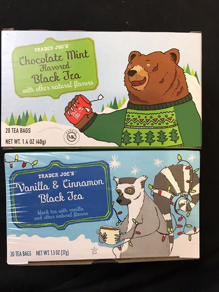 Image result for chocolate mint tea trader joe's