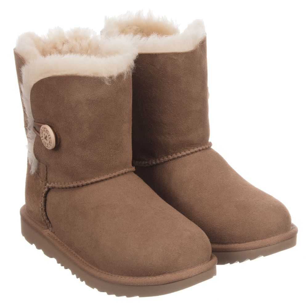 43982c5478a BAILEY BUTTON Suede Boots for Girl by Ugg Australia. Discover more ...