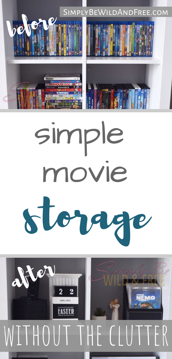 Simple Tips For Organizing Movies This Is The Best Dvd Storage