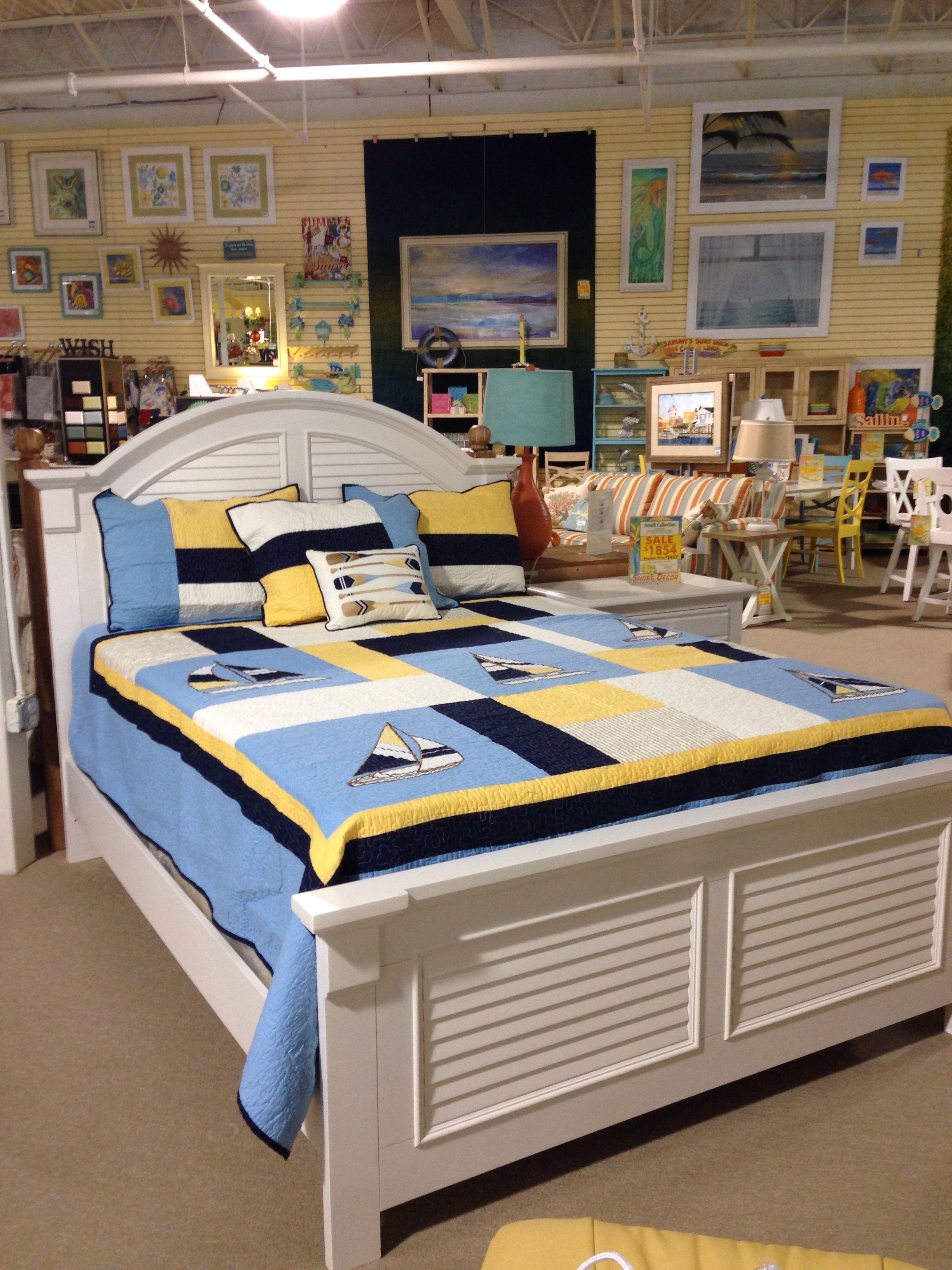 Sail Away Bedding