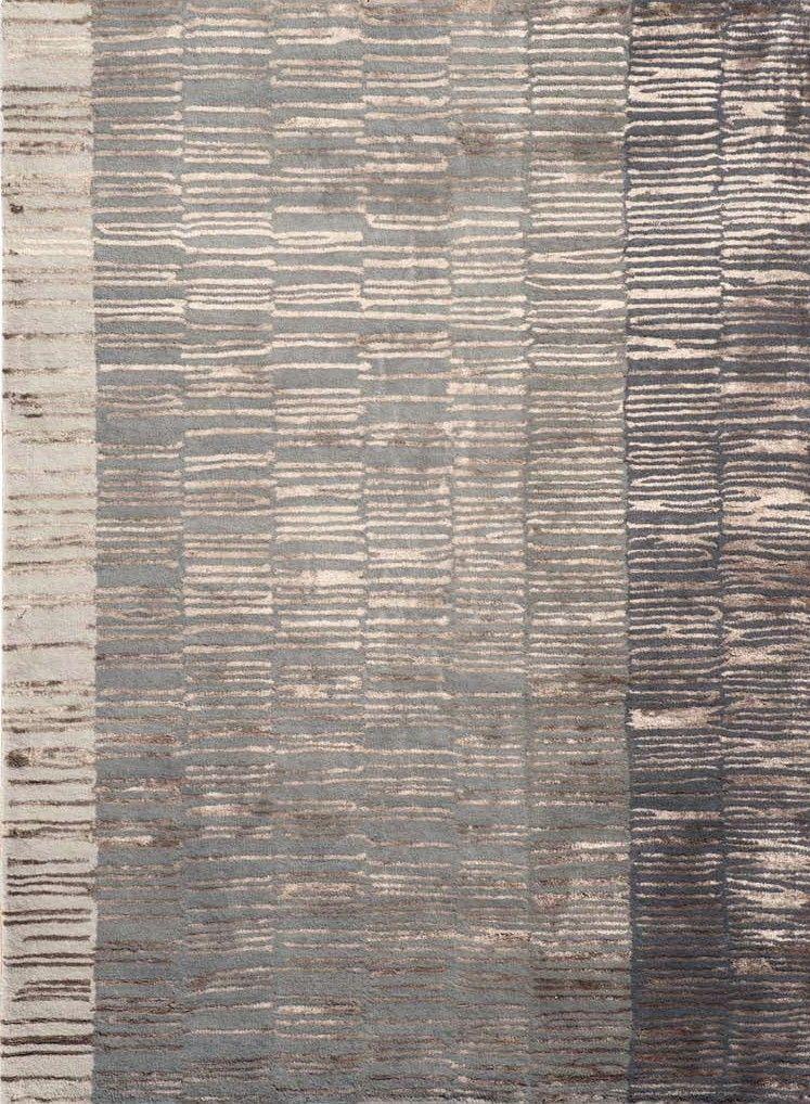 alfombra moderna fade grey