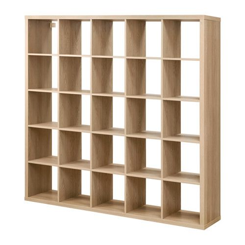 KALLAX Shelving unit Oak effect 182 x 182 cm in 2019 ...