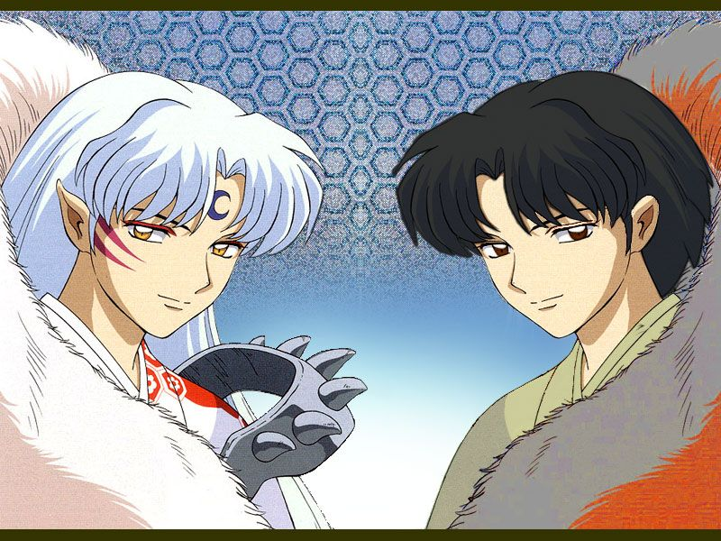 Lord Sesshoumaru Demon and Human Form from InuYasha