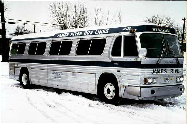James River Bus Lines bus, 1964