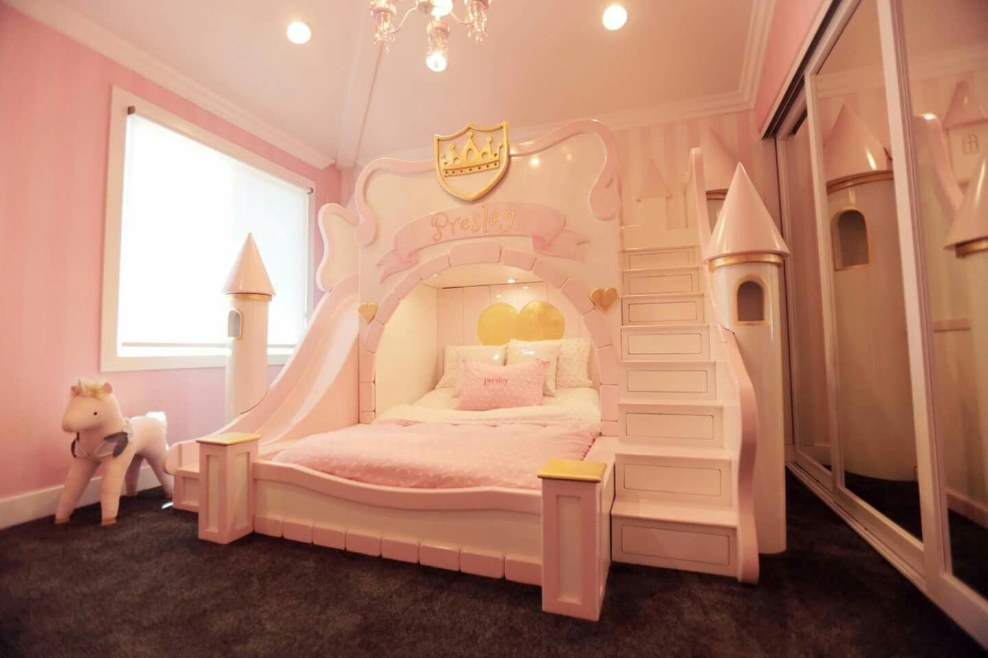 huge selection of cf4be e0e95 Castle bed | Bella bedroom | Kids bedroom dream, Castle ...