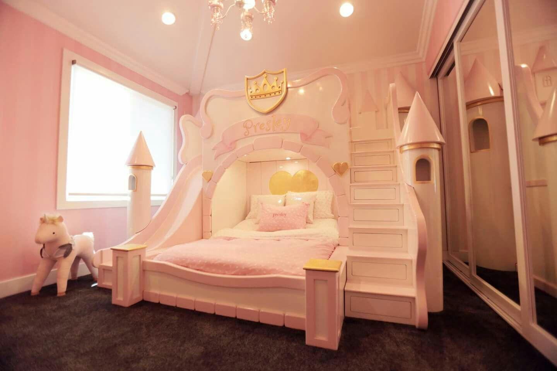 Castle Bed Kids Bedroom Dream Princess Bedrooms